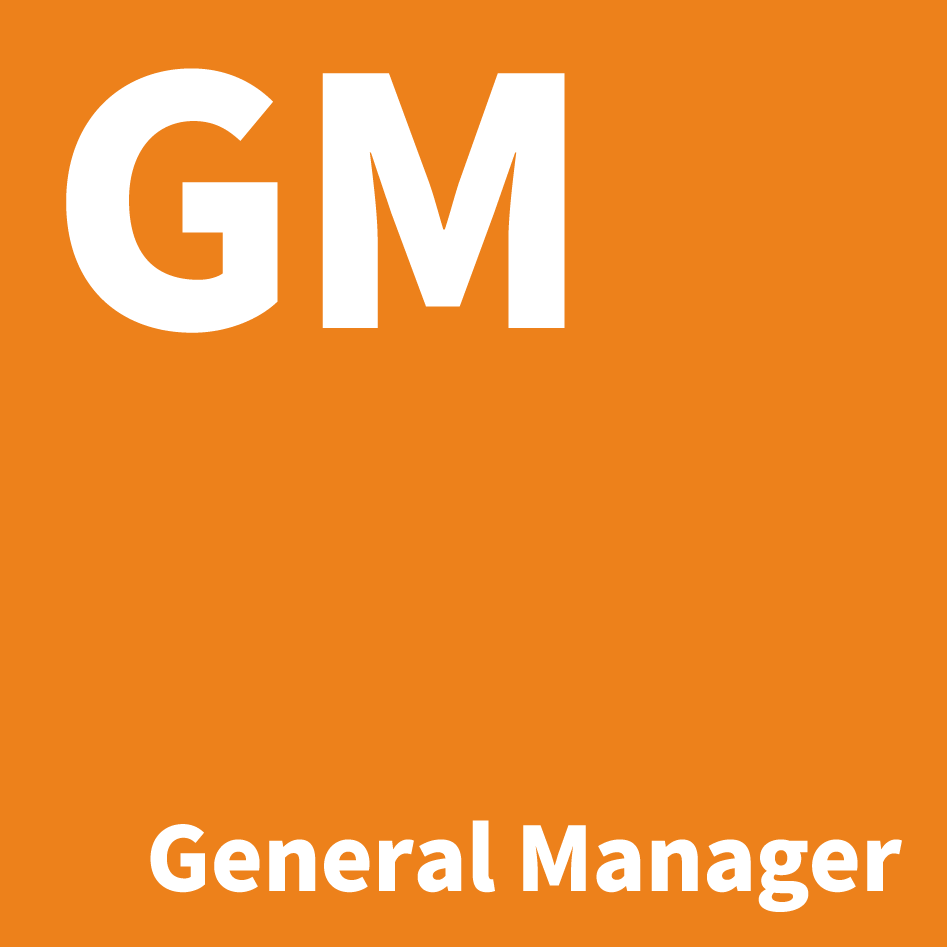 [バッジ]GM/General Manager