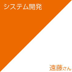 システム開発/遠藤さん